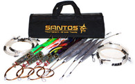 Wahoo Trolling Lure Pack (Light/Medium Tackle) - Tournament Rigged (30-50 lb Class Tackle)