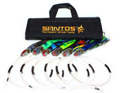 Small Marlin / Sailfish Trolling Lure Pack - Tournament Rigged (30-50 lb Class Tackle)