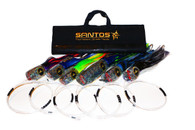 Tournament Grander Marlin Trolling Lure Pack - Tournament Rigged (80-130 lb Class Tackle)