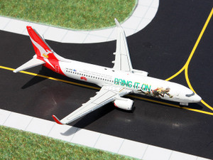 "Gemini Jets GJQFA1301 Qantas B737-800 VH-VXG ""Bring It On Rugby"" 1:400"