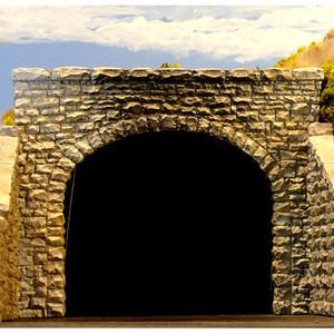 Chooch Enterprises CHO9770 Double Random Stone Tunnel Portal, 2 pieces