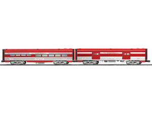 """Lionel O 6-25757 Neil Young Signature Line """"Texas Special"""" Diner & Baggage Add-on 2-pack"""