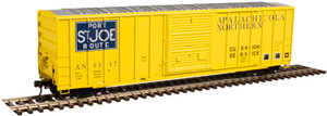 Atlas HO 20003899 Apalachicola Northern FMC 5347 Box Car #5517