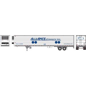 Athearn RTR 29856 Alliance 53' Reeder Trailer, # 553294 HO