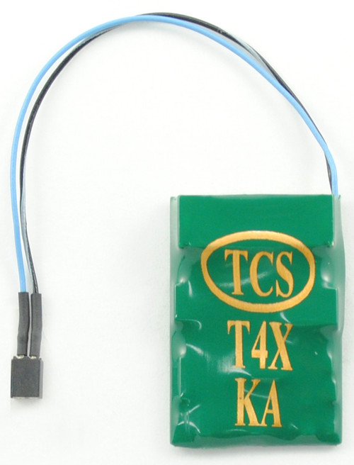 Train Control Systems T4X-KAC Decoder with Keep Alive Connector