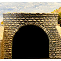 Chooch Enterprises CHO9750 Double Cut Stone Tunnel Portal, 2 pieces