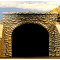 Chooch Enterprises CHO9770 Double Random Stone Tunnel Portal, 2 pieces