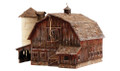 Woodland Scenics BR4932 Old Weathered Barn N scale Built-Up