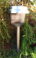 2-Pack Garden Pathway Stainless Steel Solar Light