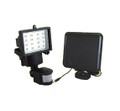 Outdoor Garden 16-LED Solar Security Shed Garage Work Light Flood Light