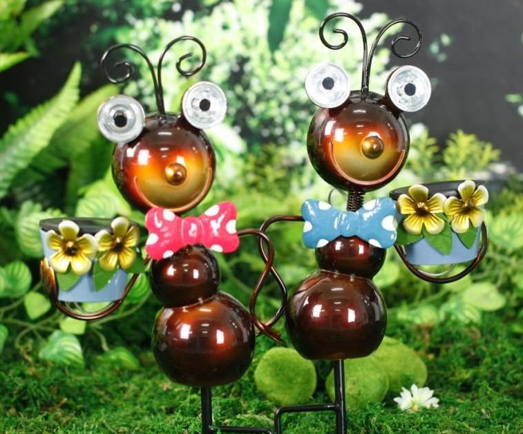 Solar Powered Garden Decor Ant Light Sw Closeouts