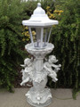Outdoor Garden Decor Angel Cherub Sculpture Solar Light