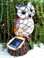 Solar Mosaic Owl Garden Decor