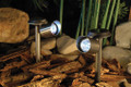 2-Pk Stainless Steel Adjustable Spot Flood Light 2 LEDs