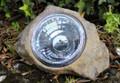 Outdoor Decor Solar Stone Rock Spot Light 3 LEDs (R10)