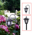 2 In 1 Cane Hexagon Solar Hanging Light (ss30h)