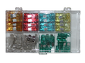 120 Pc Auto Fuse Assortment Set (Old Vehicle)