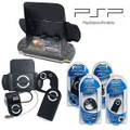 PSP Accessory Kit w/Shield/Lens Cleaner/Portalock & More!