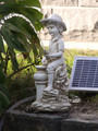 Boy Spitter Pond Statue With Sub Water Pump Combo