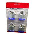 "4Pc 1"" Laminated Lock"
