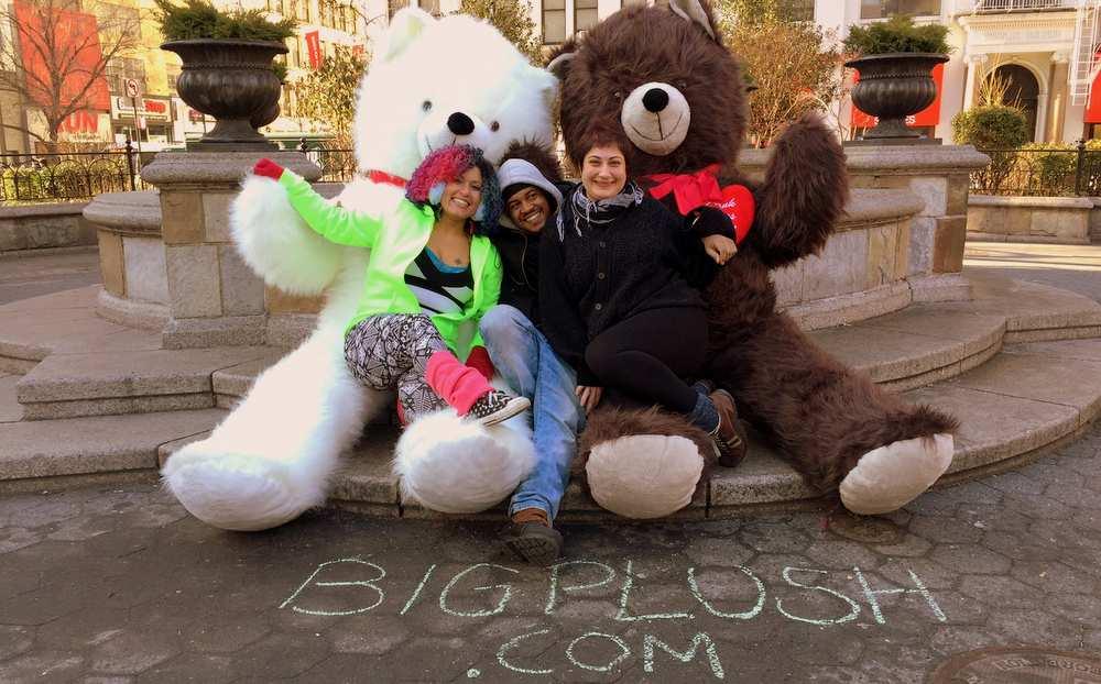 96 inch Bears at BigPlush.com Biggest Teddy Bears in the World 8 feet ... Giant Stuffed Bear