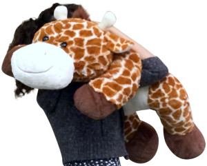 Large Stuffed Giraffe 36 Inches Long Big Plush Soft High Quality Fun Toy