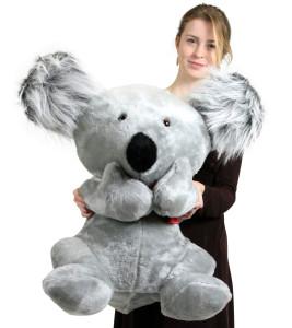 American Made Large Stuffed Koala Bear 26 inches Soft Big Plush Animal Made in the USA