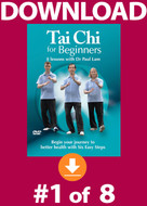 Tai Chi for Beginners: Lesson #1 Digital Download