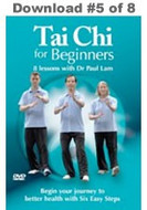 Tai Chi for Beginners: Lesson #5 Digital Download