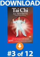 Tai Chi for Arthritis: Lesson #3 Digital Download