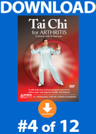 Tai Chi for Arthritis: Lesson #4 Digital Download
