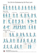Tai Chi for Diabetes Wall Chart