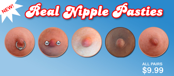 Real Nipple Pasties Nipple Covers