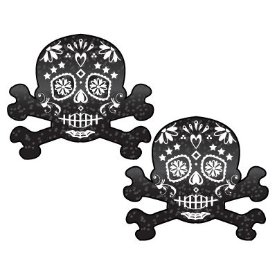 Candy Skull Nipple Pasties