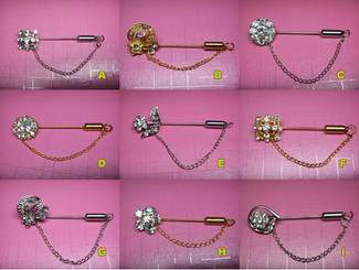 Fancy Hijab Pins