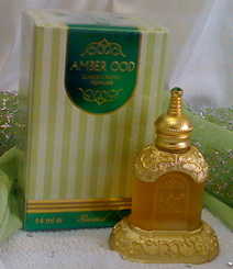 Amber Ood Arabian Attar Fragrance Perfume by Rasasi, (14ml)