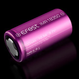 Efest IMR 18350 High-Drain 10.5A Discharge 3.7V 700mAh Rechargeable Lithium Battery (Flat-Top)