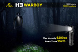Xtar H3 XM-L2 U3 1,000 Lumens 'Warboy' Headlamp