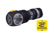 ArmyTek Elf C1 1,050 Lumens USB Rechargeable Headlamp with 18350 Battery (Cool White/Warm White)