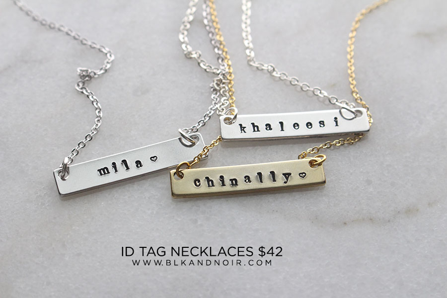 ID NAME TAG NECKLACE