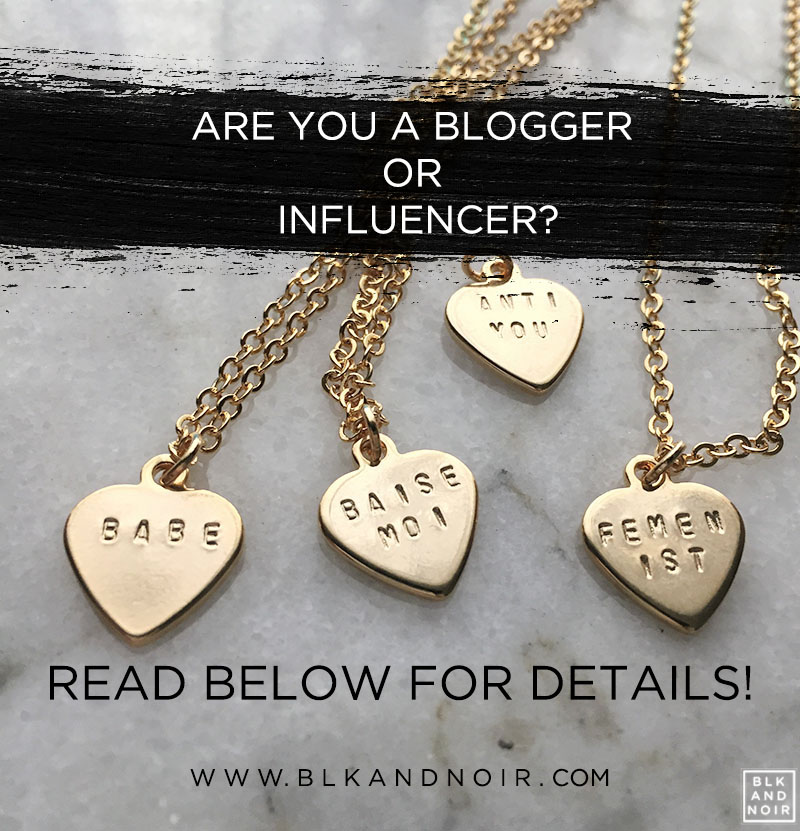 Are you a blogger or influencer? Join our affiliate program!