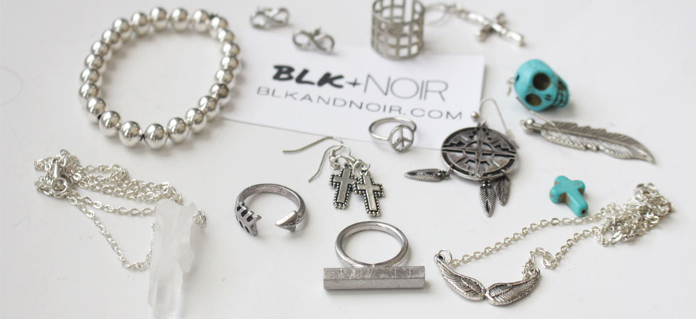 BLK AND NOIR JEWELRY