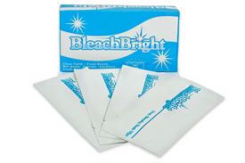 BleachBright teeth wipes. Perfect for before and after whitening process.