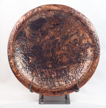 Hand Hammered Copper Platter