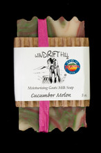 Moisturizing Goats Milk Soap - 5 oz. - Cucumber Melon Scent