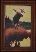 """Moose"" print by Phillip R. Goodwin"