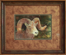 """Ram"" watercolor by Jean Halverson"