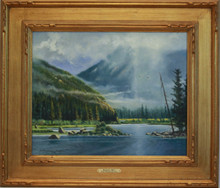 """Morning Mist"" oil by Don Dernovich"