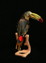 Swarovski Crystal Toucan, Black Diamond
