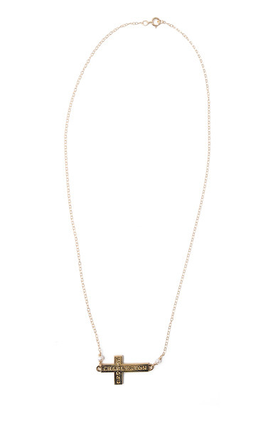 Charleston Strong Necklace- Gold
